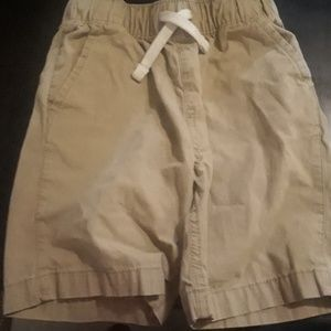 Khaki boy shorts